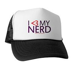 I <3 My Nerd Trucker Hat