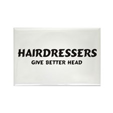 Hairdressers Rectangle Magnet