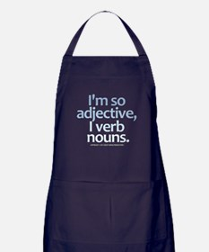 I'm So Adjective Apron (dark)
