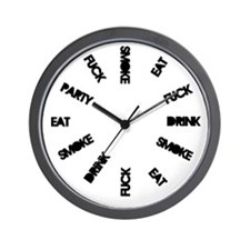 Cool Haha Wall Clock