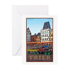 Trier Hauptmarkt Greeting Card