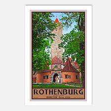 Rothenburg Burgtor Postcards (Package of 8)