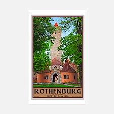 Rothenburg Burgtor Decal