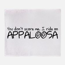 Appaloosa Throw Blanket