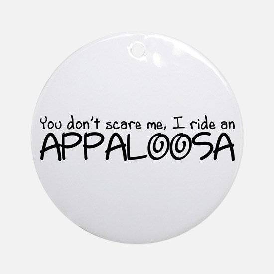 Appaloosa Ornament (Round)