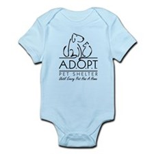 A.D.O.P.T. Pet Shelter Infant Bodysuit