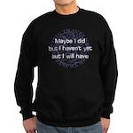 Time Dilemma Sweatshirt (dark)