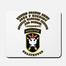 SOF - USAJFKSWCS SSI with Text Mousepad