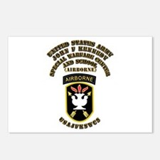 SOF - USAJFKSWCS SSI with Text Postcards (Package