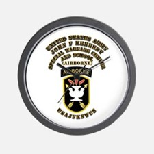 SOF - USAJFKSWCS SSI with Text Wall Clock