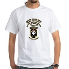 SOF - USAJFKSWCS SSI with Text Shirt