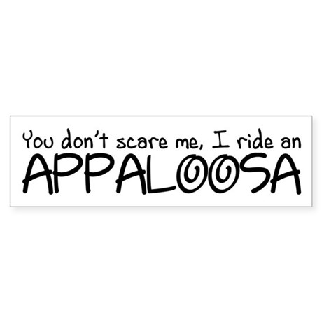 Appaloosa Sticker (Bumper)