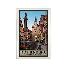Rothenburg Markusturm Rectangle Magnet