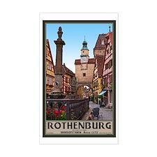 Rothenburg Markusturm Decal