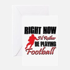 Football Gift Designs Greeting Card