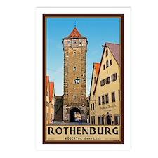 Rothenburg Rödertor Postcards (Package of 8)