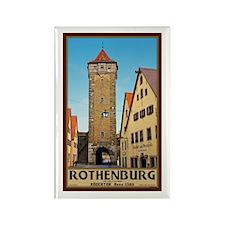 Rothenburg Rödertor Rectangle Magnet