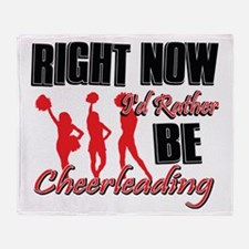 Cheerleading Gift Designs Throw Blanket