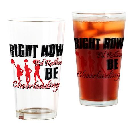 Cheerleading Gift Designs Drinking Glass