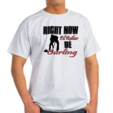 Curling Gift Designs T-Shirt