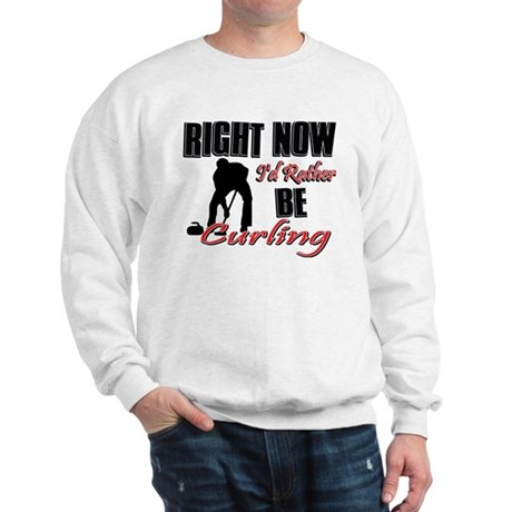 Curling Gift Designs Sweatshirt