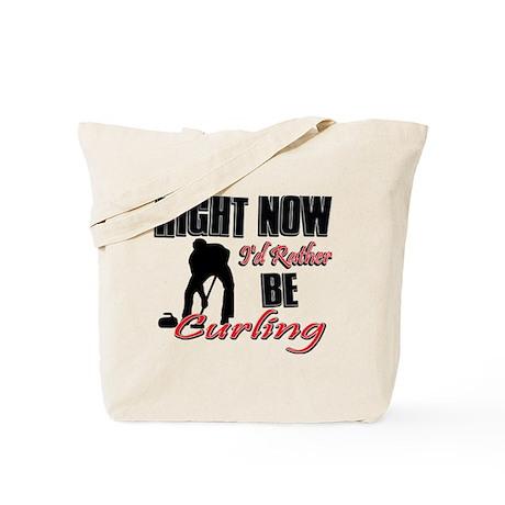 Curling Gift Designs Tote Bag