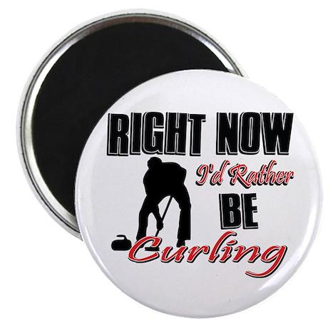 """Curling Gift Designs 2.25"""" Magnet (100 pack)"""