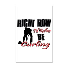 Curling Gift Designs Posters