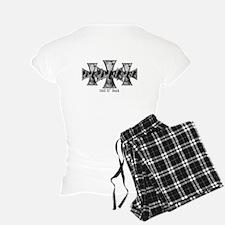 Hell N' Back Skulls Pajamas