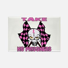 Take No Prisoners Breast Canc Rectangle Magnet