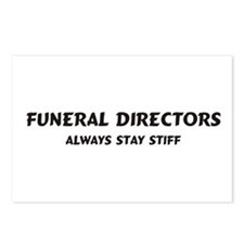 Funeral Directors Postcards (Package of 8)