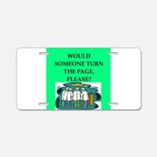 funny surgeon jokes Aluminum License Plate