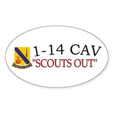 1st Squadron 14th Cavalry Decal