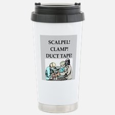 funny surgeon jokes Thermos Mug