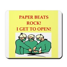 funny surgeon jokes Mousepad