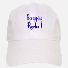 Scrapping Rocks ! Baseball Baseball Cap