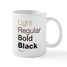 Helvetica Neue Small Mug