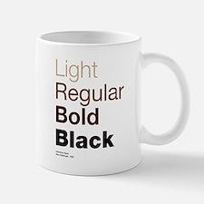 Helvetica Neue Small Small Mug
