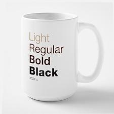 Helvetica Neue Mug
