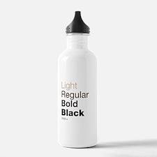 Helvetica Neue Water Bottle