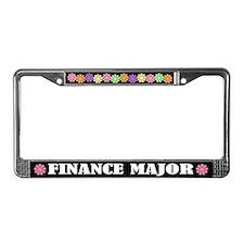 Finance Major License Frame