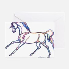 Prancing Horse - Greeting Cards (pk Of 10)