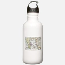 Athenian Empire Color Map Water Bottle