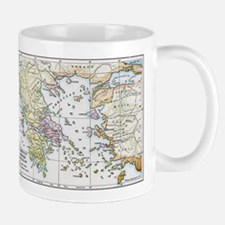 Athenian Empire Color Map Mug