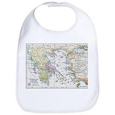 Athenian Empire Color Map Bib