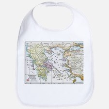 Athenian Empire Color Map Bib