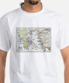 Athenian Empire Color Map Shirt