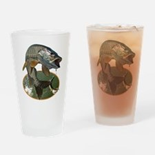 Musky Fishing Drinking Glass