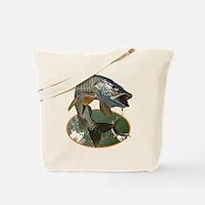 Musky Fishing Tote Bag