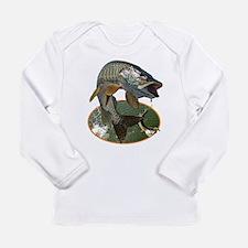 Musky Fishing Long Sleeve Infant T-Shirt